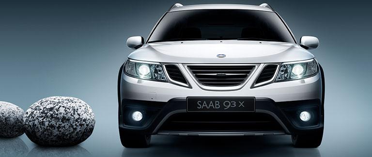 Saab 9-3X silver